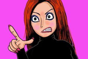 不倫ブス女の嫉妬とコンプレックス